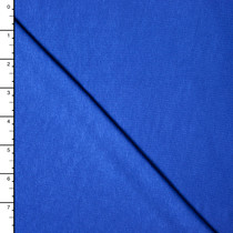 Bright Royal Blue Stretch Rayon Jersey Solid