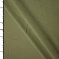 Olive Green Organic Cotton Knit