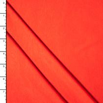 Bright Orange Stretch Rayon Jersey Solid