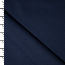 Navy Blue Cotton Twill