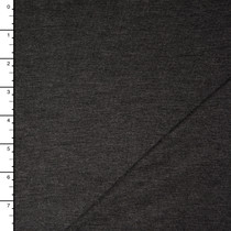 Charcoal Heather Stretch Rayon Jersey Knit