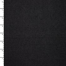 Black Denim-Look Knit