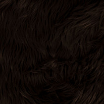 Brown Shag Faux Fur