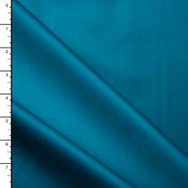 Turquoise Cotton Sateen