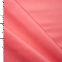 Coral Cotton Sateen