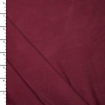 Rich Burgundy Brushed Modal Jersey Knit