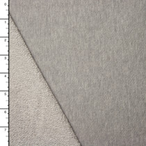 Midweight Light Grey Heather French Terry