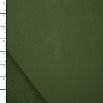 Olive Green Midweight French Terry
