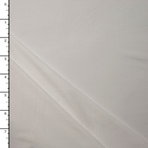Winter White Double Brushed Poly Spandex Knit