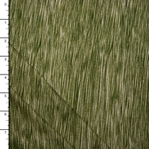 Moss Green Lined Double Brushed Poly Spandex Knit Print