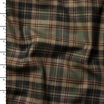 Black and Olive Plaid Carhartt Flannel