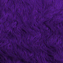 Purple Mongolian Faux Fur