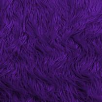 Purple Mongolian Faux Fur
