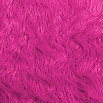 Fuschia Mongolian Faux Fur
