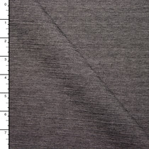 Charcoal Grey Lined Stretch Ponte Knit