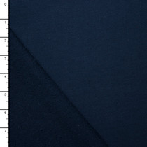 Navy 100% Cotton Midweight French Terry