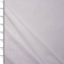 Soft White Rayon Jersey Knit