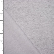 Light Grey Heather Sweatshirt Fleece