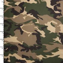 Camouflage Print Lightweight Nylon/Lycra