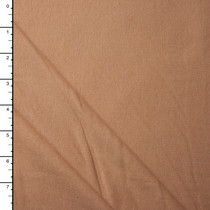 Tan 100% Organic Cotton Midweight Jersey Knit