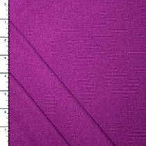 Rich Purple Cotton/Bamboo Stretch Jersey Knit