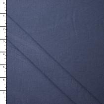 Slate Blue Organic Cotton/Bamboo Stretch Jersey Knit