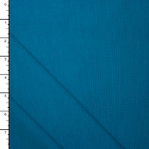 Carribean Blue 4-way Stretch Heavy Ponte De Roma