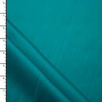 Rich Turquoise Midweight Stretch Cotton Sateen
