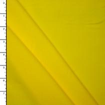 Sunbeam Yellow Midweight 4-Way Stretch Cotton/Lycra