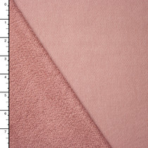 Light Mauve Soft French Terry