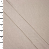 Light Tan Midweight Stretch Rayon/Lycra Jersey Knit Fabric By The Yard