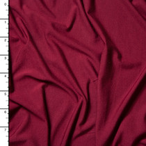 Wine Modal Stretch Jersey Knit Fabric By The Yard
