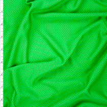 Kelly and Neon Lime Performance Double Knit Fabric By The Yard