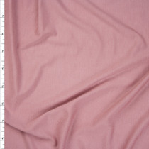Dusty Rose Stretch Bamboo Jersey Knit Fabric By The Yard