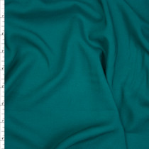Teal Rayon Challis Fabric By The Yard