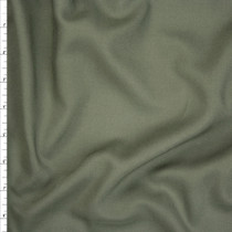 Soft Moss Green Rayon Challis Fabric By The Yard