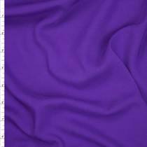 Purple Rayon Challis Fabric By The Yard