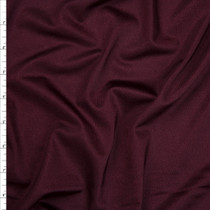 Wine Shiny 4-way Stretch Nylon/Lycra Fabric By The Yard