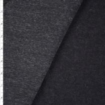 Black Heather Midweight Sweatshirt Fleece