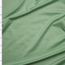 Sage Green Double Brushed Poly Spandex Knit Fabric By The Yard