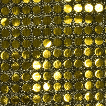 Gold Black Big Dot Sequin Fabric