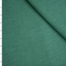 Soft Heather Hunter Green Midweight Sweatshirt Fleece Fabric By The Yard