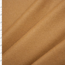 Camel Wool Melton Coating Fabric By The Yard