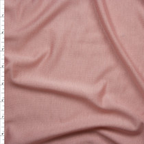 Soft Peach Lightweight French Terry Fabric By The Yard