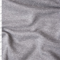Medium Grey Midweight Sweatshirt Fleece Fabric By The Yard