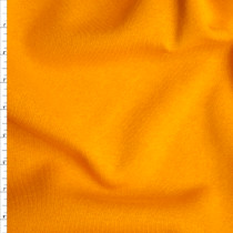 Bright Mango Midweight Sweatshirt Fleece Fabric By The Yard