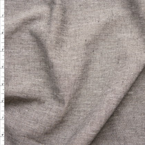 Grey Stretch Rayon Midweight Chambray Fabric By The Yard