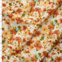 'Harvest' Floral London Calling Cotton Lawn by Robert Kaufman Fabric By The Yard