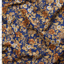 'Earth' Floral London Calling Cotton Lawn by Robert Kaufman Fabric By The Yard