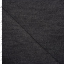 Black 10oz. Stretch Denim by Robert Kaufman Fabric By The Yard